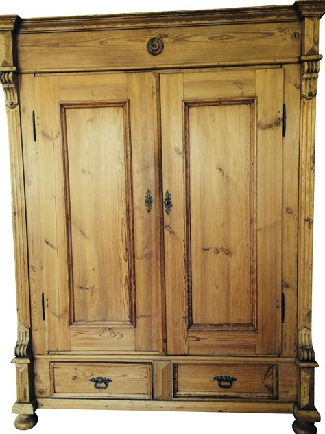 Antique Pine Armoire by German Antique Pine Armoire Chairish