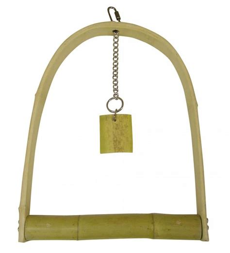 bamboo swings pet shop direct sweet feet beak bamboo swing extra large
