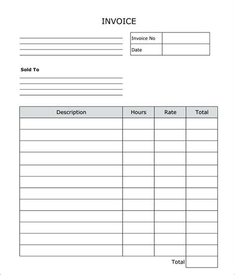 free fillable receipt template fillable receipt template blank invoice word fillable