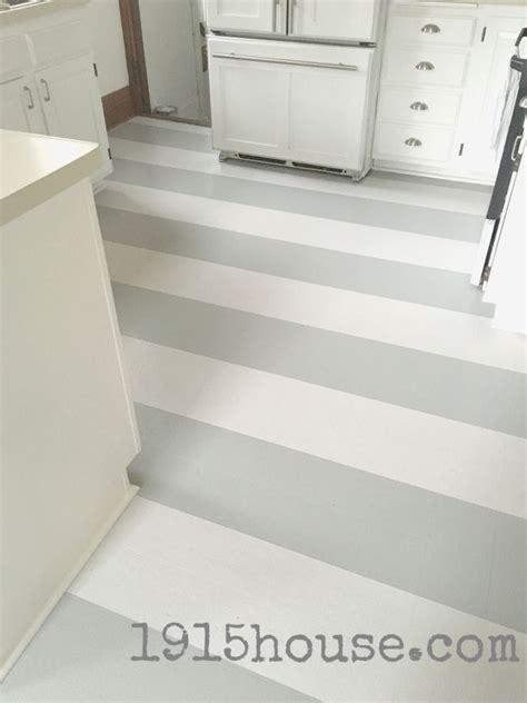 Paint Linoleum Floor Kitchen by 1000 Ideas About Painted Kitchen Floors On