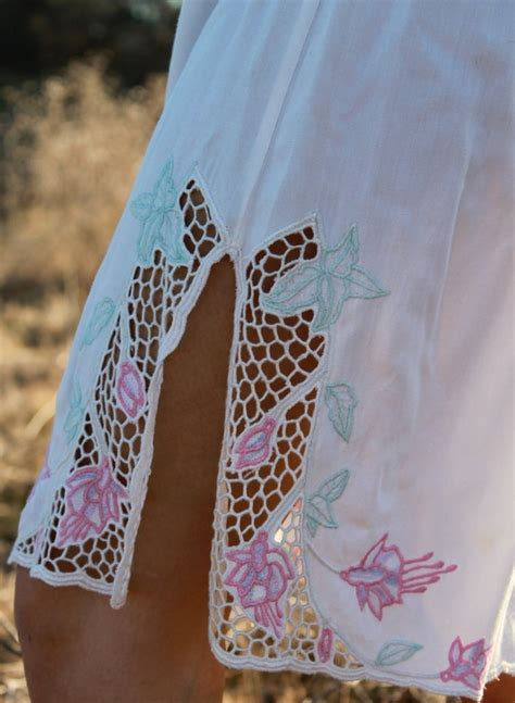 White Flower Shirt Dress Size Sml 14371 47 best bali cutwork images on