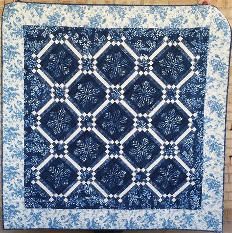 How To Spell Quilt by Let It Snow Again Cold Spell Quilt Kit 65 X 65