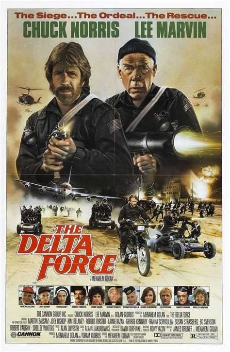 film terbaik chuck norris delta force movie poster chuck norris rambo ebay