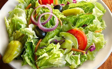 Olive Garden Salad Calories by House Salad Without Croutons Lunch Dinner Menu