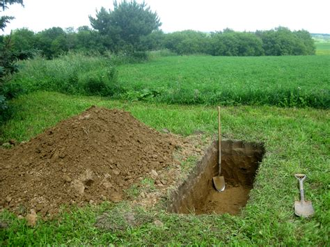 on grave my time digging a grave and why it hopefully won t be my last offbeat home