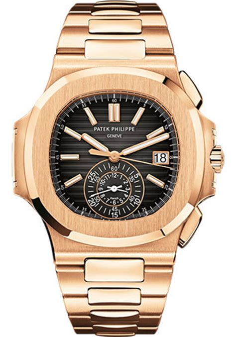 Swiss 8151 Black Rosegold List patek philippe nautilus mens gold watches from