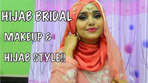 tutorial makeup ulzzang hijab bridal wedding hijab style asian bridal makeup hijab