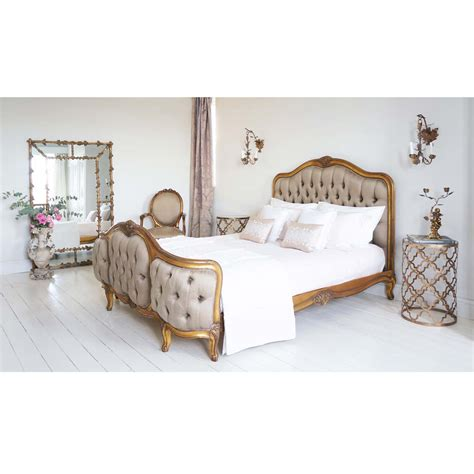 quatrefoil side table modern bedroom sussex by the quatrefoil gold and glass side table french bedroom company