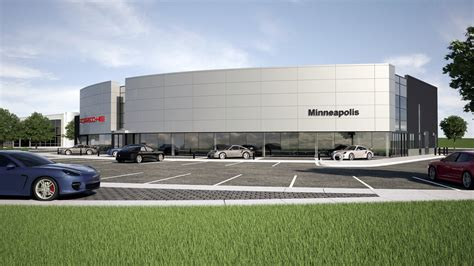 porsche dealership pohlads shift gears on porsche dealership will build