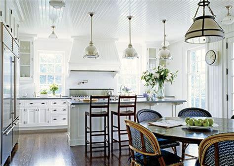life outside the bubble french bistro kitchen coastal style coastal lighting htons style