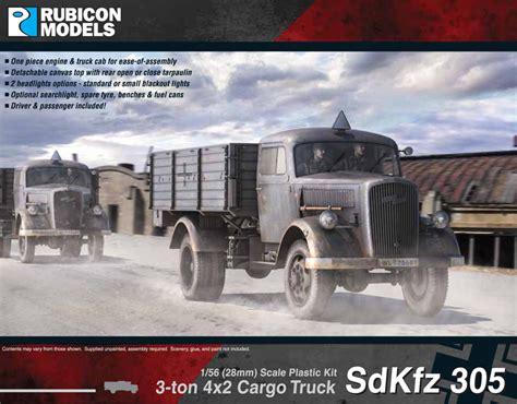 opel blitz cer rubicon models 28mm german 305 opel blitz truck ru017
