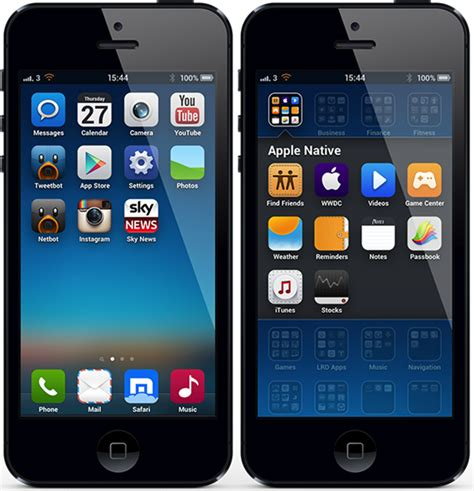 theme miui v4 iphone download the miui v5 theme for iphone 5 4s redmond pie
