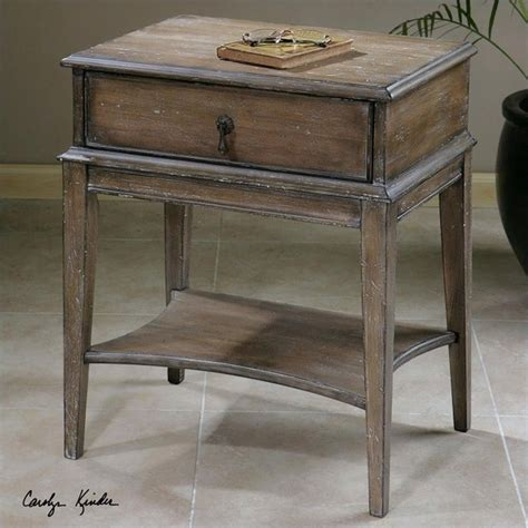 table hanford ca uttermost hanford weathered pine accent table 24312