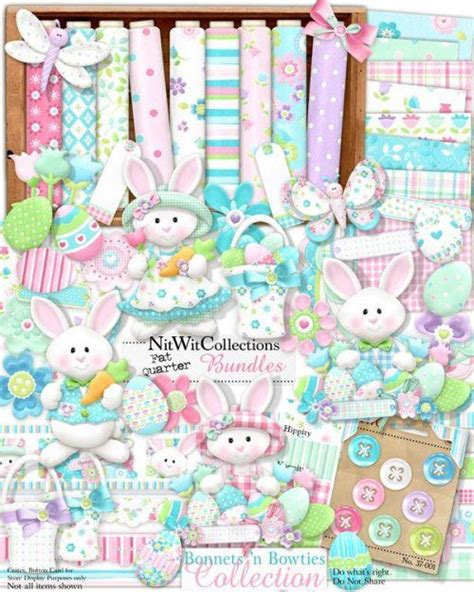 Pretty Scrapbooking Embellishments For Easter by Digital Scrapbooking Easter Bunny And Card