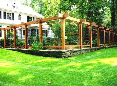 vegetable garden fence ideas for backyard homelk