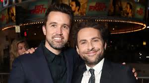 charlie day rcg rob mcelhenney charlie day comedy scores apple series