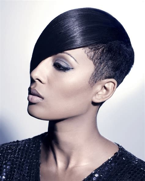 google short hair styles for black women with slender face july 2014 hairstyles updates page 2