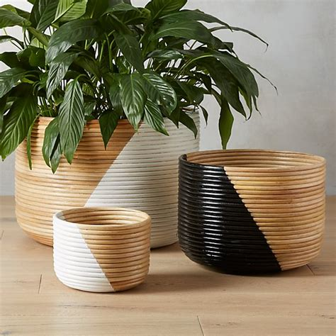 What Is Planters by Basket Planters Cb2