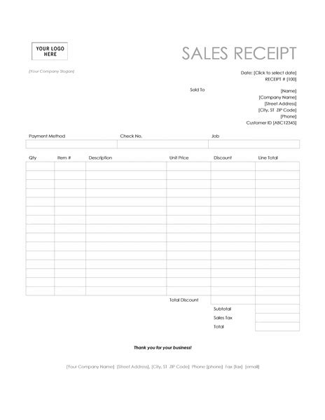 microsoft templates receipt sale invoice receipt template invitation template