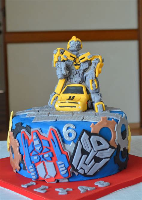 bumblebee transformer cake serendipity cakes by yvonne