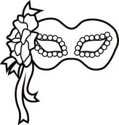 free mardi gras mask templates free coloring pages of carnival mask template