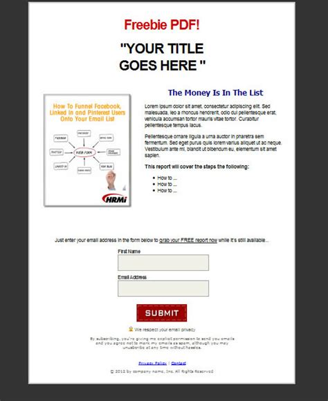 free squeeze page templates for 10 squeeze page templates