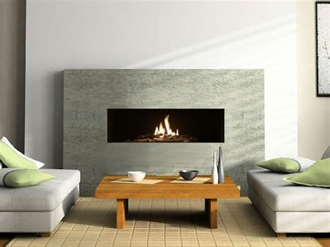 In Wall Gas Fireplace by Madini In The Wall Gas Fireplace With Logs