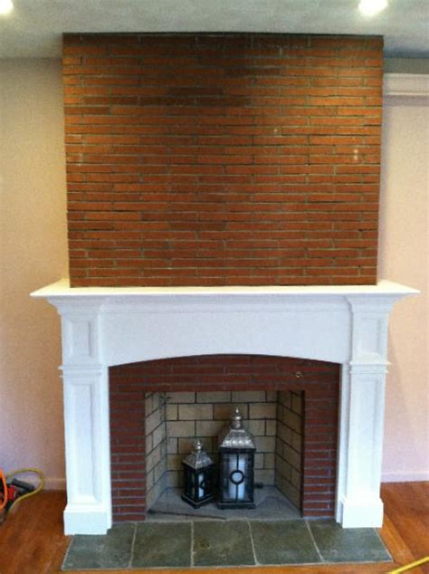 Fireplace Mantels On Brick by Mantel Sizing Glossary Extended Returns