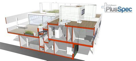 sketchup section villa savoye plusspec for sketchup tutorial series plusspec