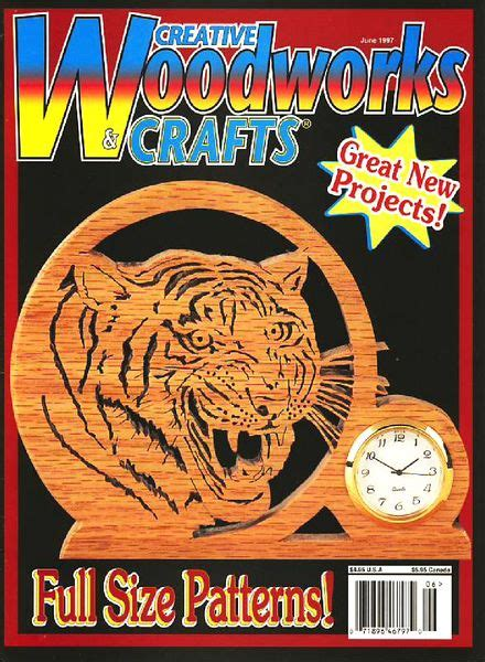 creative woodworking and crafts creative woodworks crafts issue 47 june 1997
