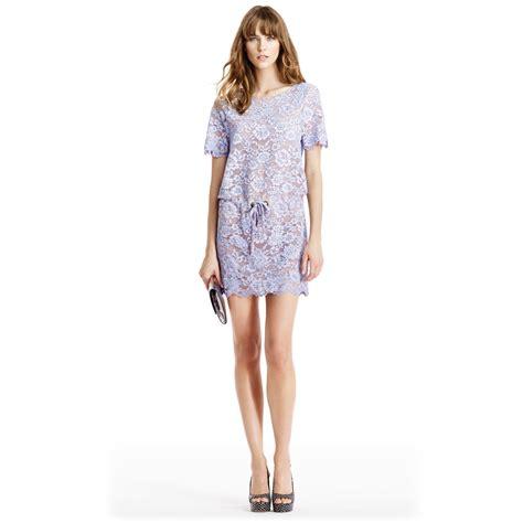 Dvf Dresses by Diane Furstenberg Dvf Amal Dropwaist Embellished Lace
