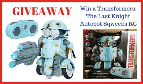 transformers the last knight autobot sqweeks rc giveaway cuddle fairy - Rc Giveaway