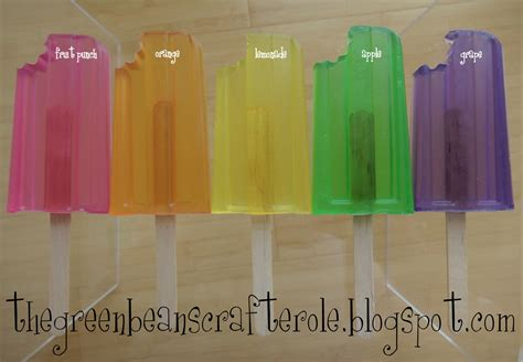 make your own soap popsicles