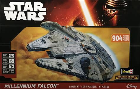 master the asvab series 1 revell master series 1 72 millennium falcon unboxing