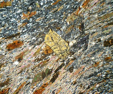 andalusite thin section biotite andalusite staurolite schist thin section