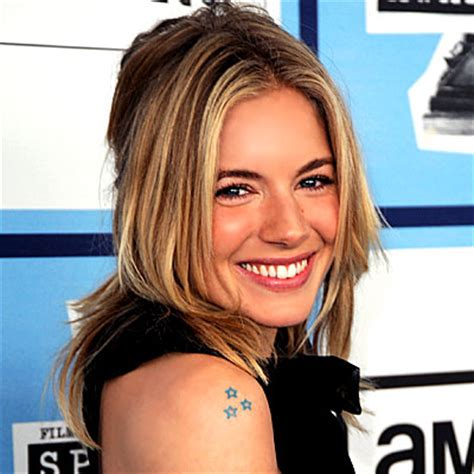 sienna miller tattoo miller project inspired