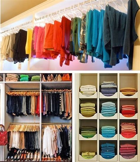 organizing shirts in closet clothing storage clothing organize organization organizer