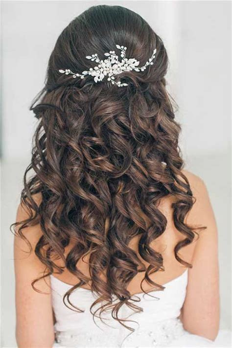 Prom Hairstyles For Long Curly Hair Down | 20 down hairstyles for prom hairstyles haircuts 2016