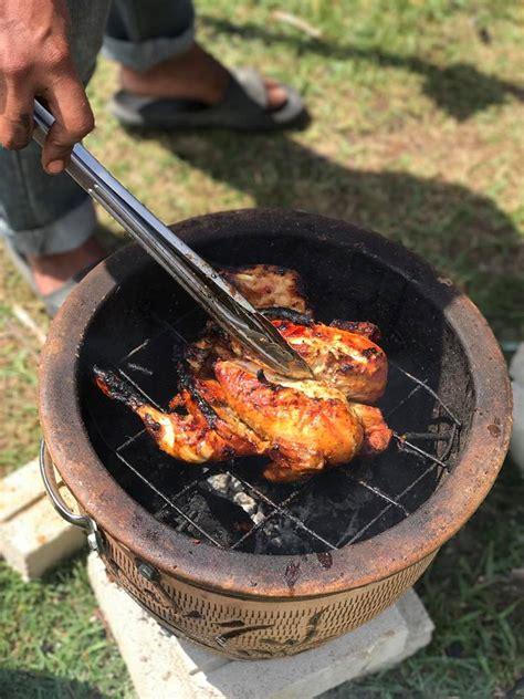 Ayam Panggang Per Ekor 50 ekor terjual dalam sejam ayam bakar pasu tekup jadi