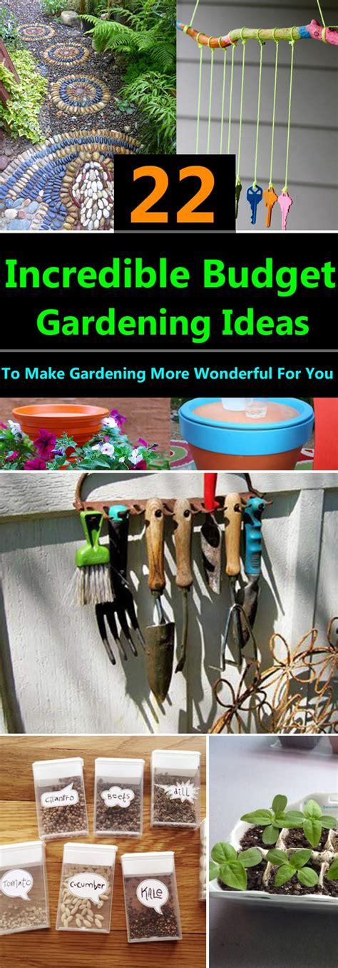 incredible budget gardening ideas garden ideas