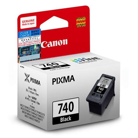 Cartridge Original Canon 740 jual canon cartridge 740 black original disc comp