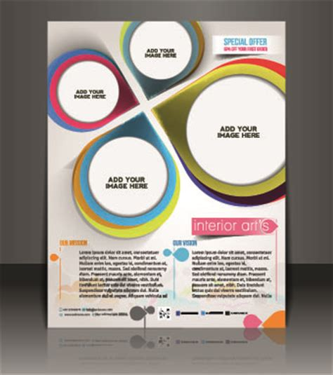 business flyer design vector free download business flyer and brochure cover design vector 67
