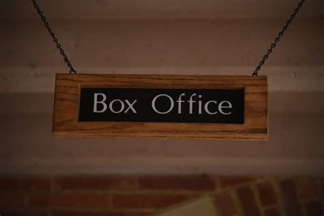Box Office by Box Office Sign Free Stock Photo Domain Pictures