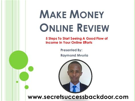 Online Money Making Reviews - how can i make money online review training with rsu
