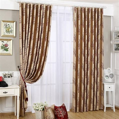 one sided drapes free processing thermal insulation full blackout luxury