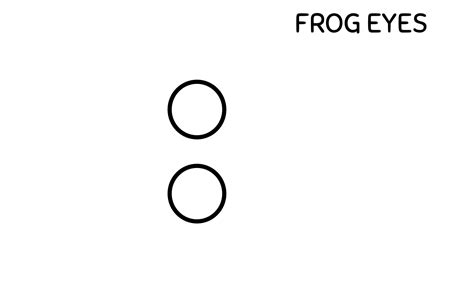 Printable Frog Eyes | amphibian abstracts frog paper craft