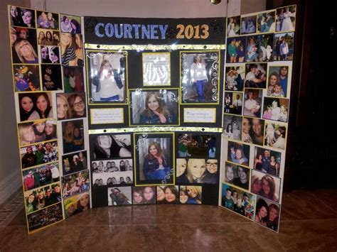 picture board ideas 50 best images about trey s grad ideas on food presentation cake and