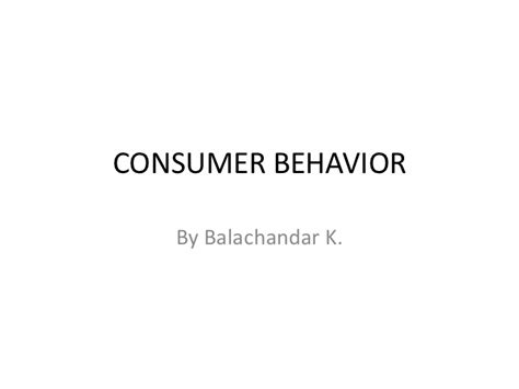 Consumer Behaviour Mba Notes Ppt by Consumer Behavior Introduction With Models
