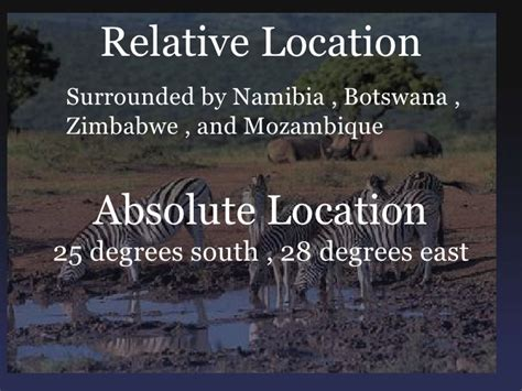 5 themes of geography zimbabwe south africa