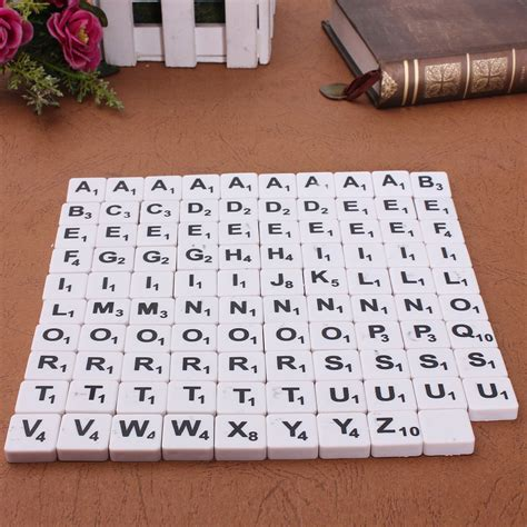 plastic scrabble tiles plastic scrabble tiles letters numbers black white font